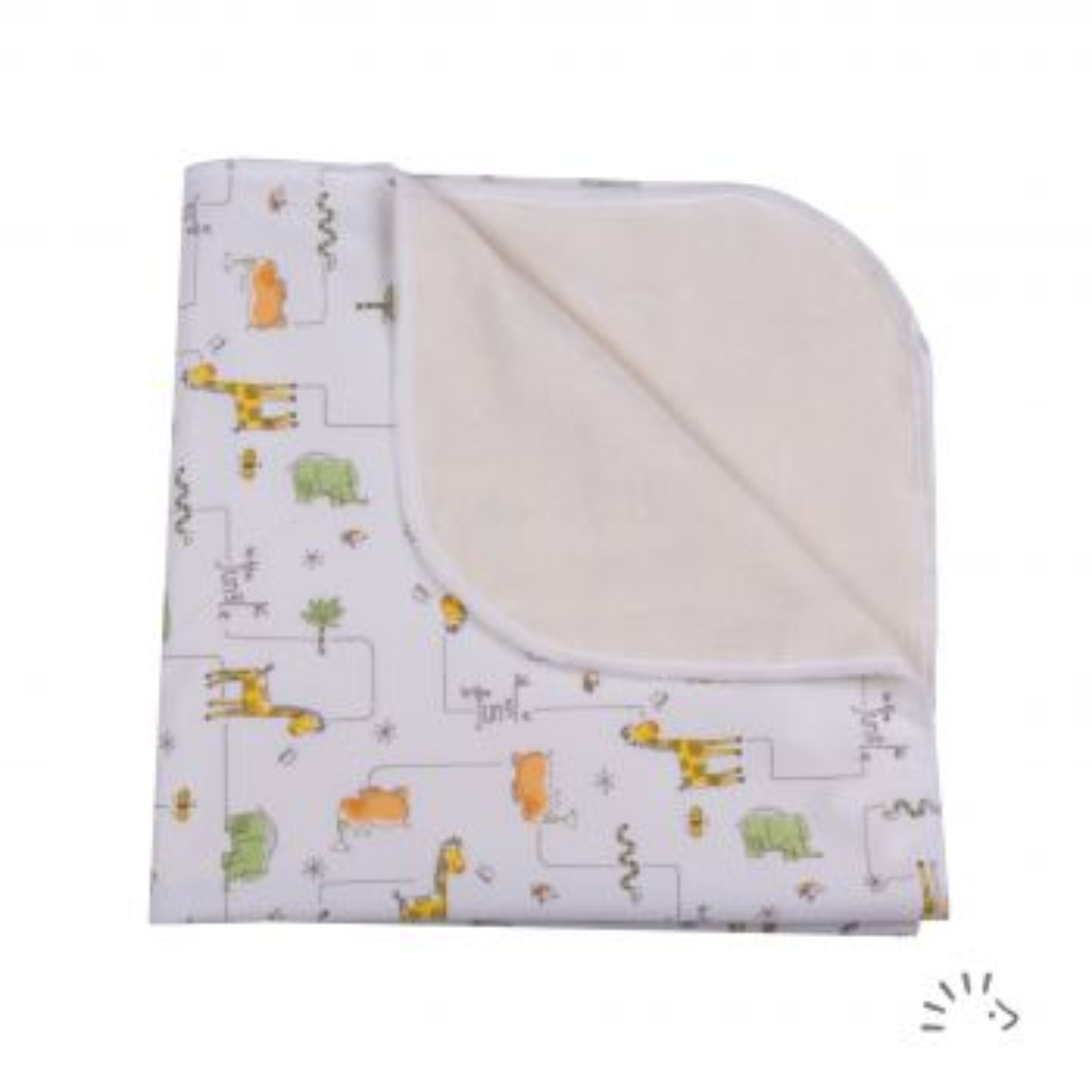 Wickeldecke Polyester/Frottee Soft