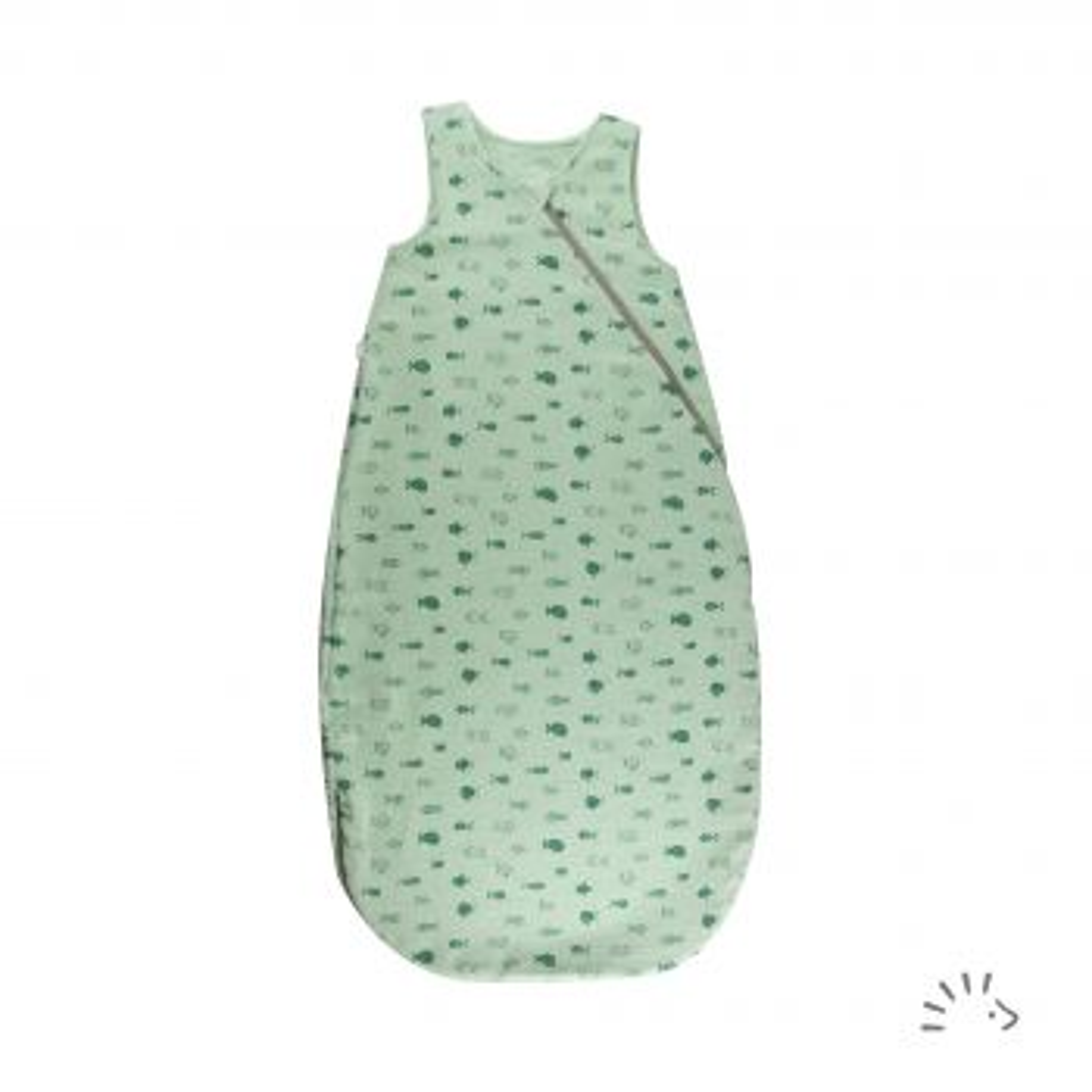 Sommerschlafsack Crinkle GOTS