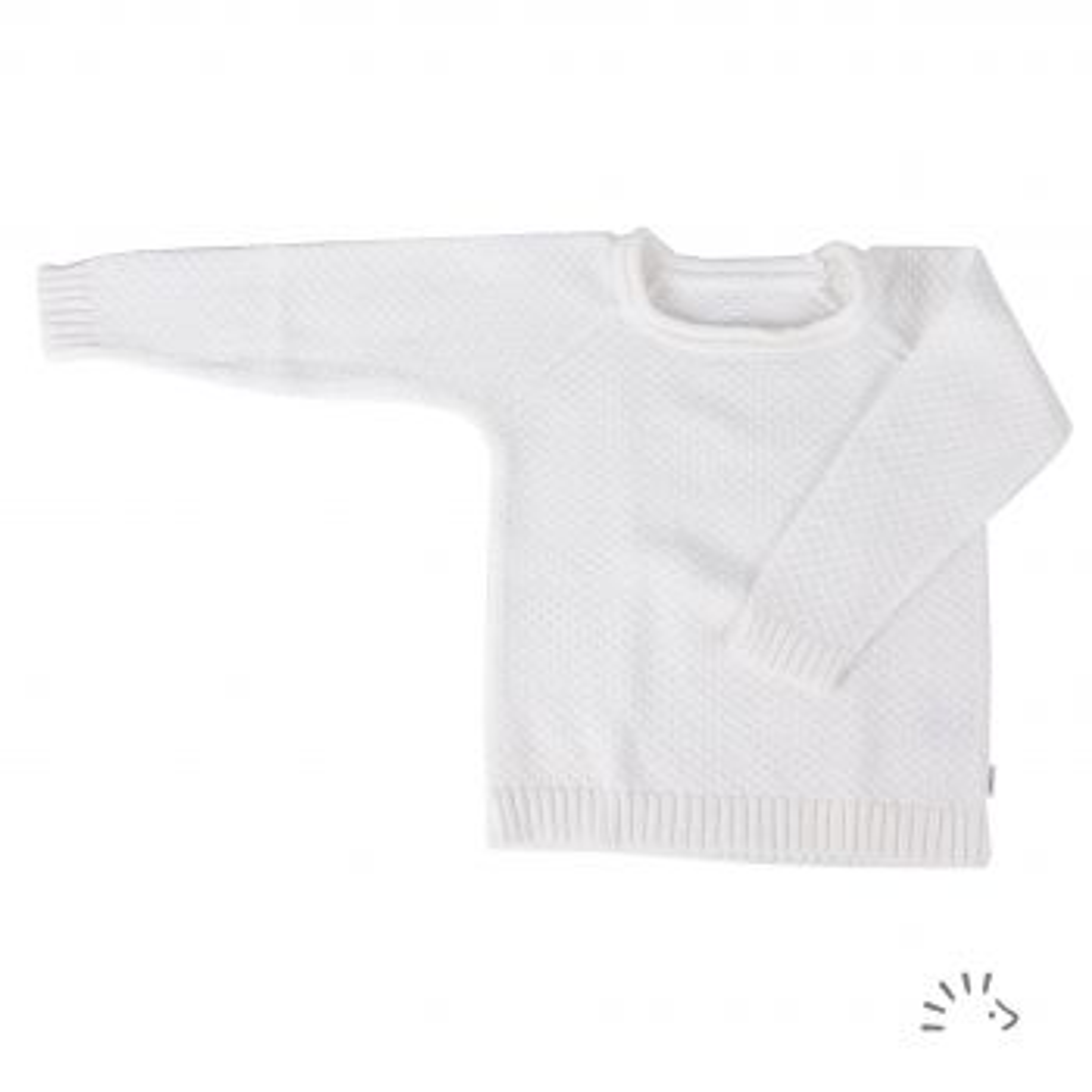 Pullover Raglan Baumwolle Gestrickt