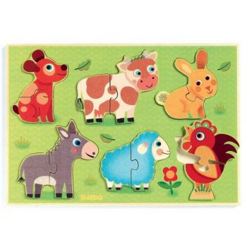 Holzpuzzle Coucou cow 1259