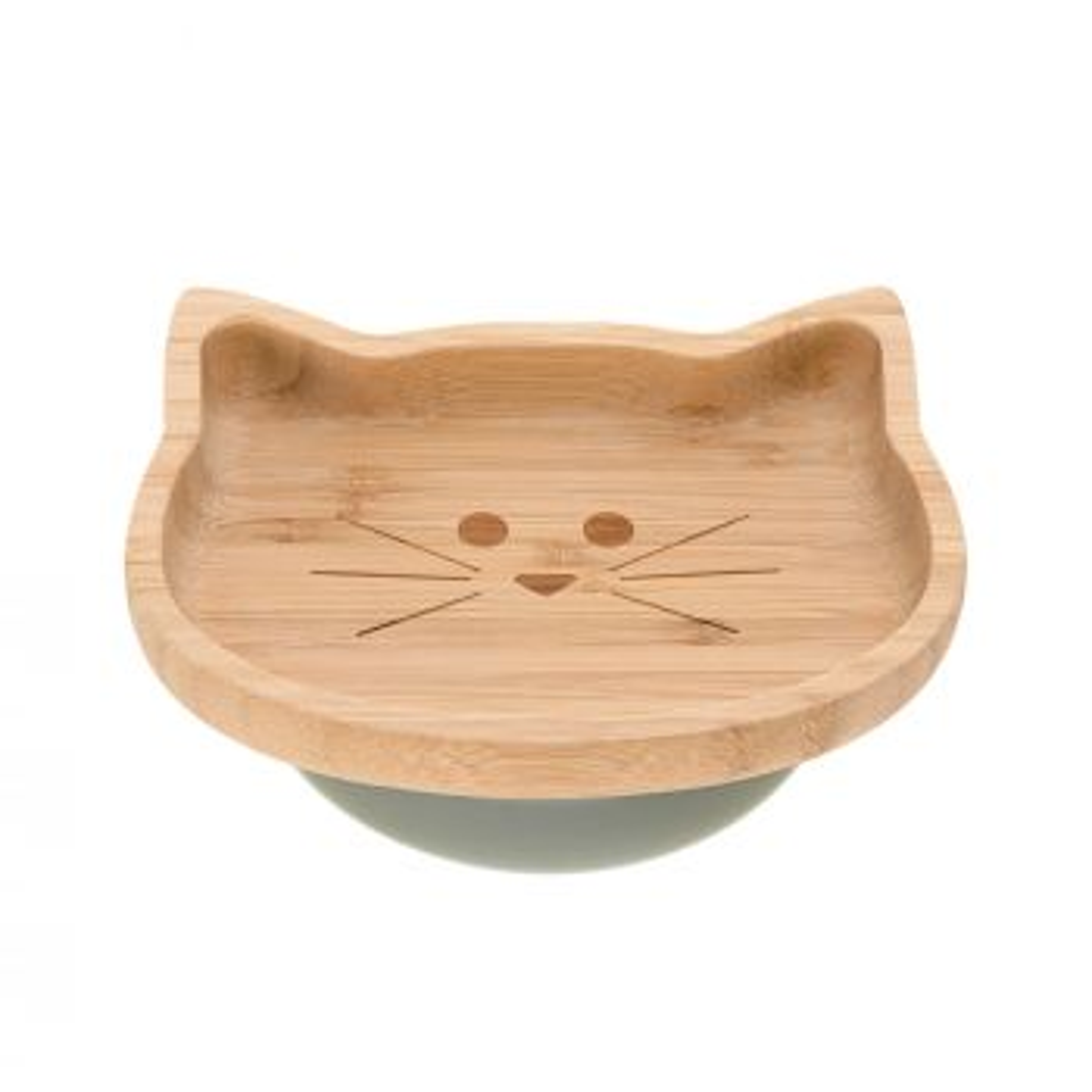 LÄSSIG Teller Bambus Katze