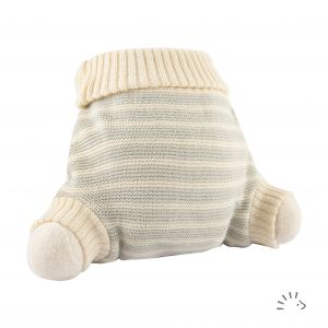 WoolPant Merinowolle gestrickt