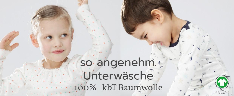 iobio Unterwäsche 100% kbA Baumwolle