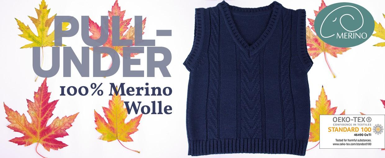 iobio Pullunder Wolle