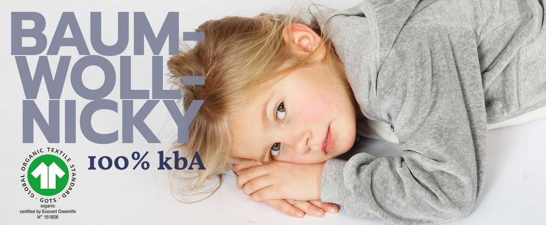 iobio Nicky aus 100 Prozent kbA Baumwolle
